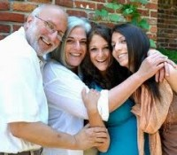 Alan Gross y su familia