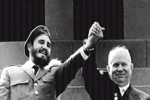 Fidel Castro y Nikita Krushev_internet