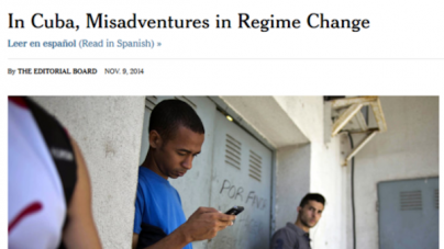 Quinto editorial de The New York Times sobre Cuba