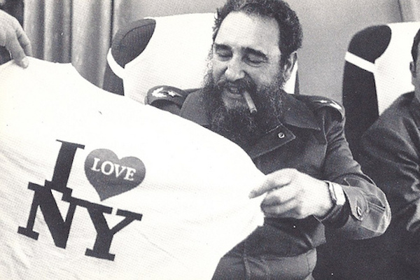 People - Fidel Castro Leaves New York City - 1979