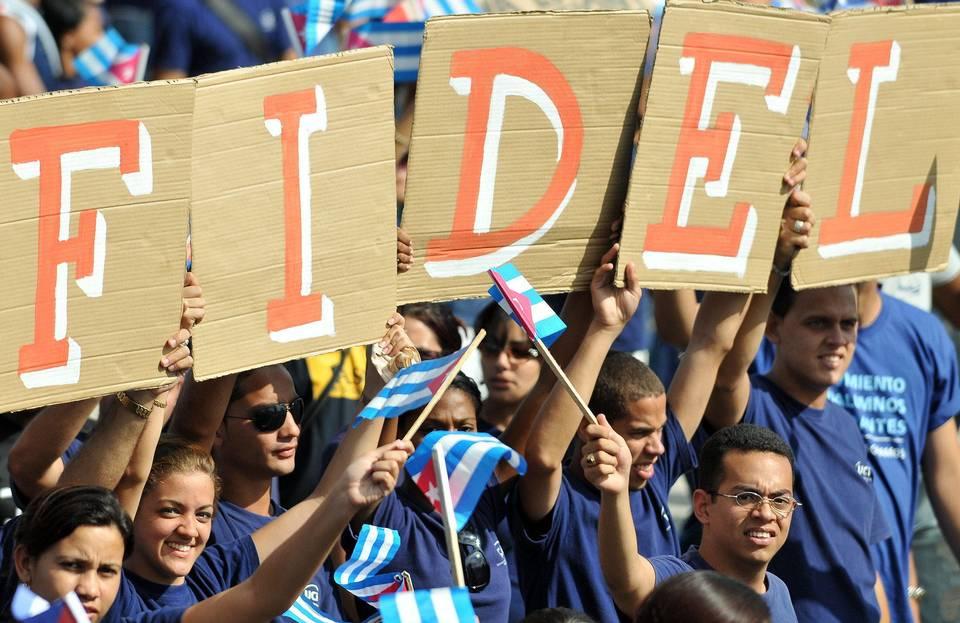 Fidel marcha 1ero de mayo