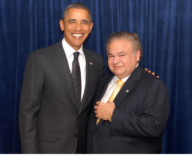 Obama and Salomon Melgen