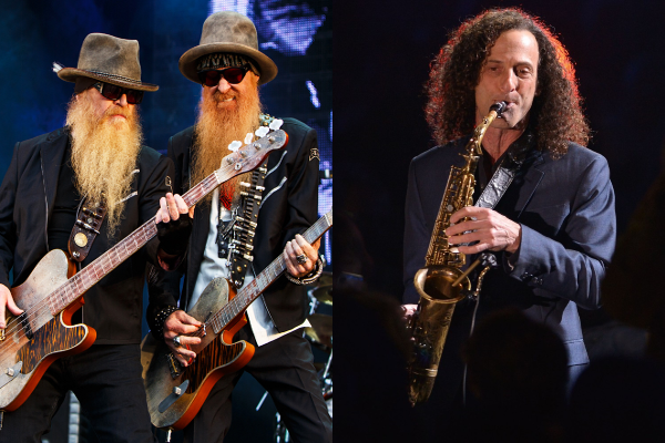 ZZ Top y Kenny G