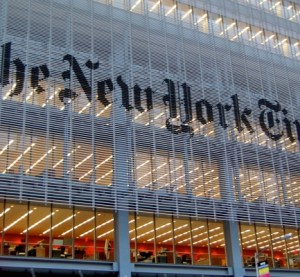 Sede de The New York Times (Foto: commons.wikimedia.org)