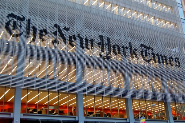 Sede de The New York Times (Foto: wikipedia.org)