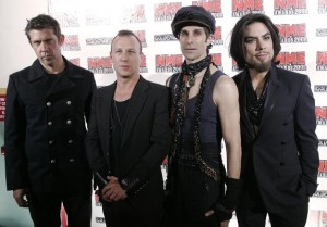 Eric Avery, Stephen Perkins, Perry Farrell y Dave Navarro, de Jane's Addiction (foto: digitalspy.com)