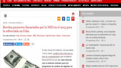 Editorial: CubaNet y la NED