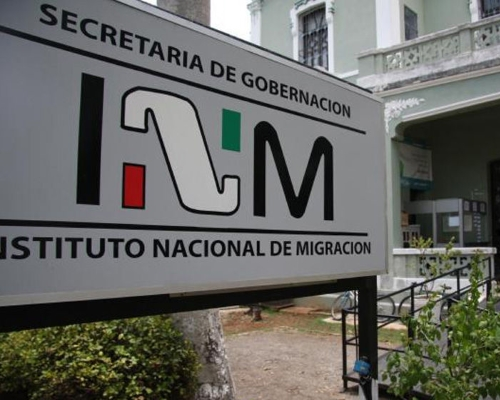 Cartel del Instituto Nacional de Migración (noticiasmvs.com)
