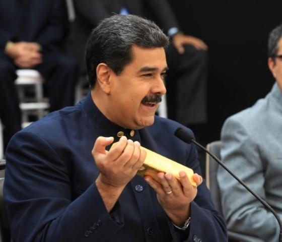 oro venezolano banco