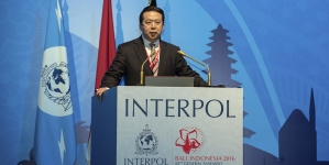 Desaparece el presidente de Interpol en China