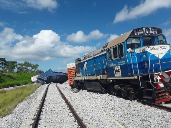 Nuevo accidente en Cuba: un tren se descarrila en La Habana