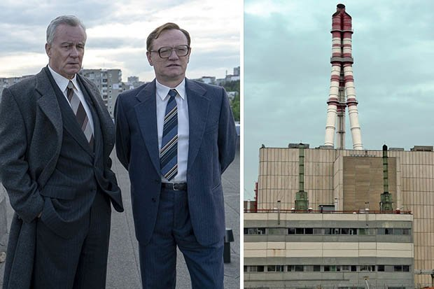 Chernobyl HBO rusia comunistas accidente nuclear