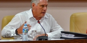 "Díaz-Canel: ""Cuba no va a ser tan normal como antes"""