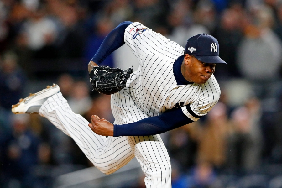 Aroldis Chapman Astros Houston Yankees MLB