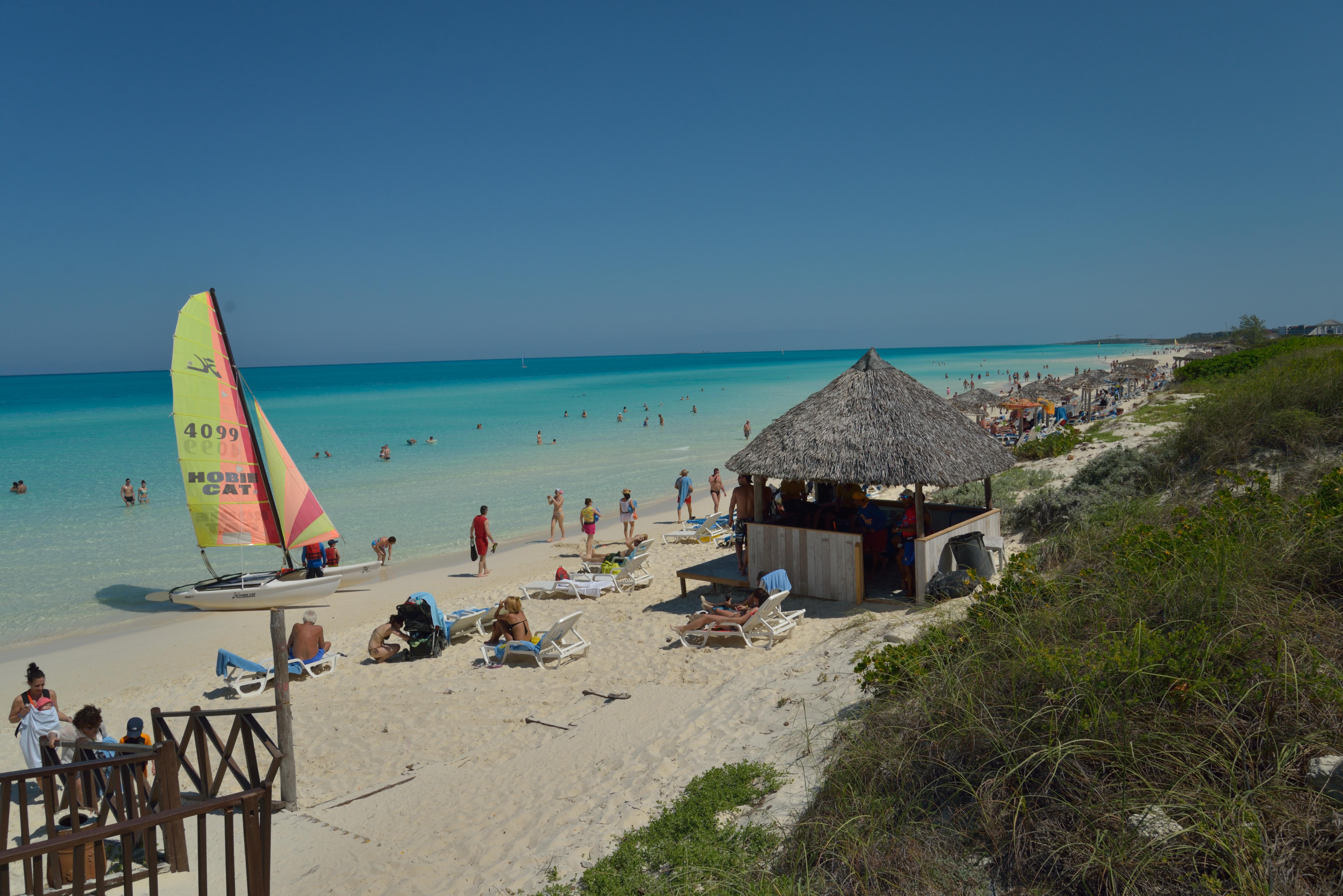 cuba turismo hoteles cayos cayo santa maría higiene