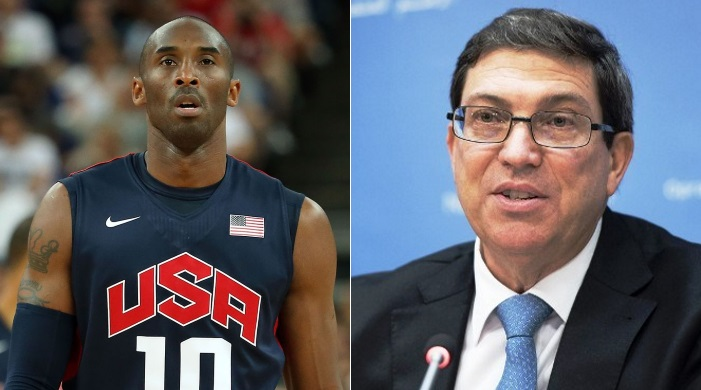 cuba Kobe bryant basketball baloncesto bruno rodríguez embargo estados unidos eeuu accidente death