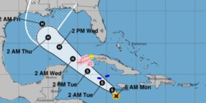 Nueva tormenta tropical en el Mar Caribe amenaza occidente de Cuba
