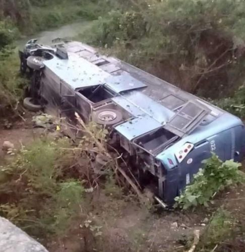 accidente autobús